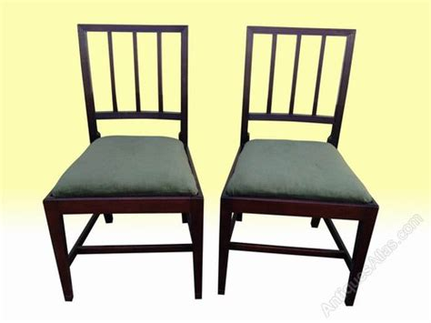 antique dining room chairs ireland set of eight george 111 dining chairs antiques atlas