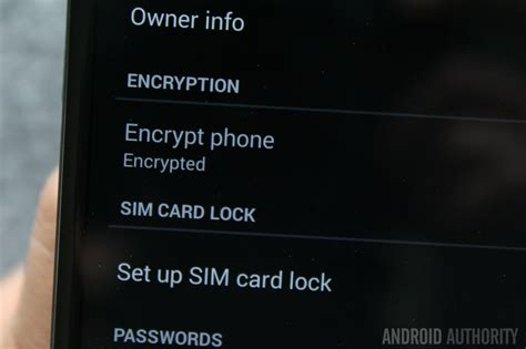 encrypt android how to encrypt your android device