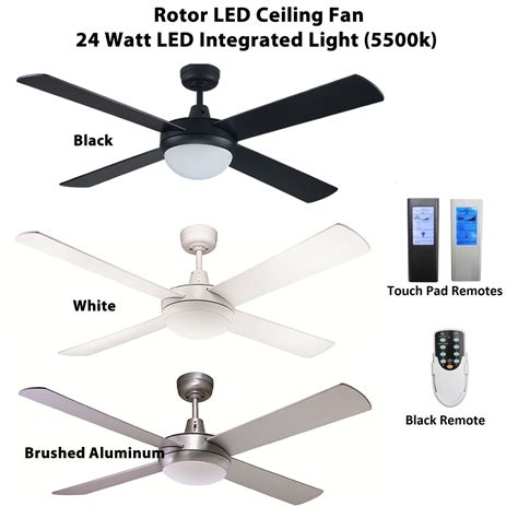 ceiling register booster fan rotor 52 inch led ceiling fan with 24w led light ceiling
