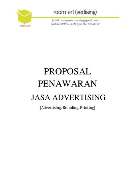 membuat proposal catering proposal penawaran jasa advertising