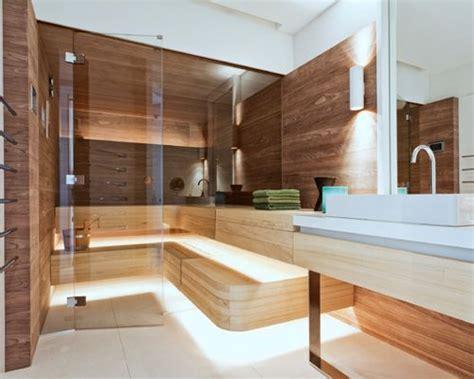 sauna für wohnung badezimmer moderne badezimmer mit sauna moderne