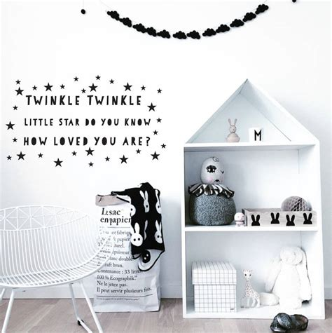 twinkle twinkle wall stickers twinkle twinkle wall stickers by parkins interiors notonthehighstreet