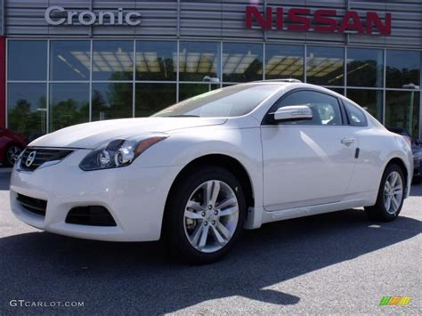 nissan altima white 2010 2010 winter white nissan altima 2 5 s coupe