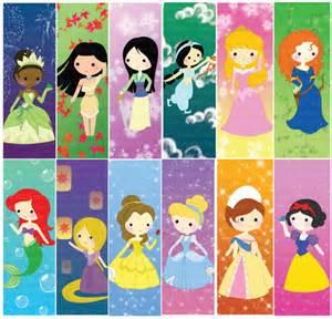 pick sets princess bookmarks sweetappletea etsy