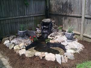 Landscaping Backyards My Backyard Fountain Outside Pinterest