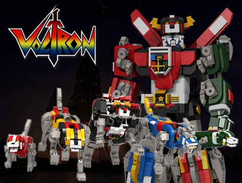 Qlt Lego Transform Warrior 2 In 1 lego voltron concept defender of the legolands technabob