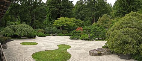zen garden us aggregates zen raked gravel garden portland oregon photograph by