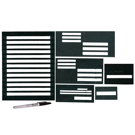 printable envelope writing guide writing guides handwriting templates low vision aids
