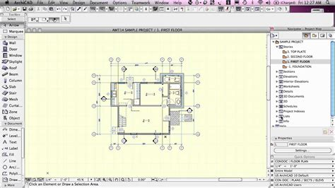 Find House Floor Plans archicad basic training lesson 1 quickstart course