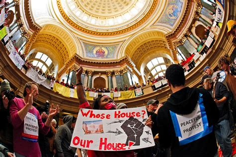 whose house wisconsin ignites workers uprisings across the u s voice of detroit the city s