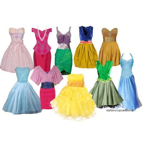 My Style Princess Tm8298 Coloured Pencil Set disney princess dresses polyvore