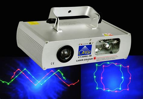 blue laser light projector