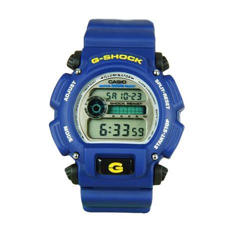 Jam G Shock Digital Blue jual g shock dw 9052 2v jam tangan pria blue