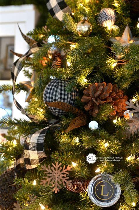 plaid christmas ornaments decorating ideas feed inspiration