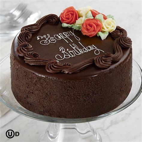 birthday cake 6 quot three layer chocolate happy birthday cake