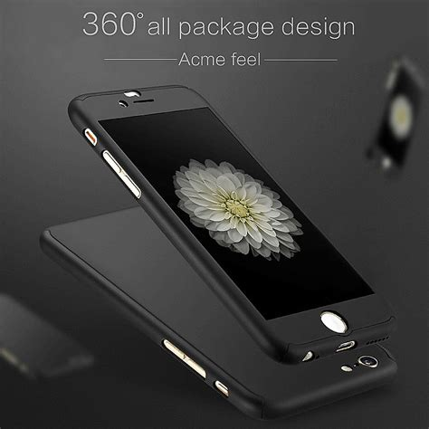 Tempered Glass Hippo Iphone 6g 4 7 Iphone 7g 4 7 Iphone 8 4 7 luxury 360 176 hybrid acrylic tempered glass cover