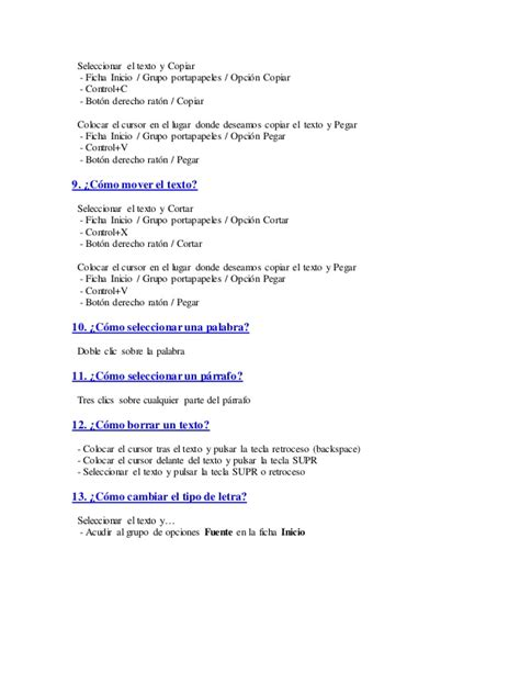 preguntas para una entrevista de trabajo en word 100 preguntas sobre word
