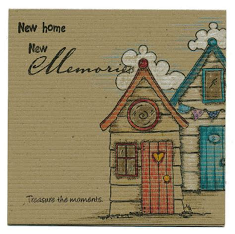 Handmade New Home Card Ideas - craftilicious new home card