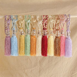 hanging curtain tie backs 1pc curtain tieback crystal tassel beaded tie tieback