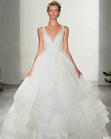 lazaro fall 2017 wedding dress collection martha stewart
