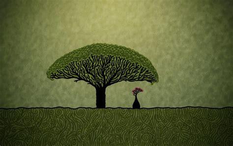 tree wallpaper art pixelstalknet