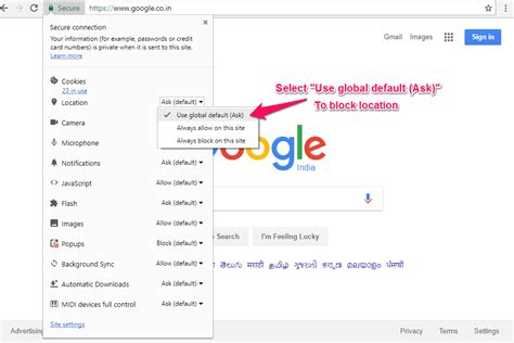 chrome has blocked it chrome to block geolocation bytenbit