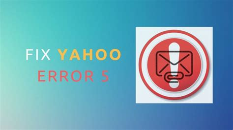 how to fix yahoo temporary error 5 yahoo support service