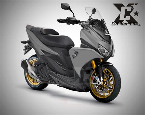 Aerox Modif by Modifikasi Yamaha Aerox 125 Lc Nmax Pun Kesaing