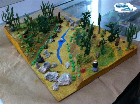 como hacer una maqueta del desierto imagenes de maquetas de un desierto animales en miniatura