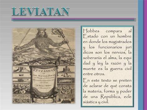 libro el despertar de leviatan leviatan thomas hobbes historia de las ideas politicas