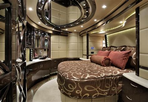 rv bedroom dream home rv motorhomes luxury rv home decor