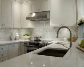 White Kitchen Countertops White Shaker Cabinets Transitional Kitchen Deslaurier Custom Cabinets