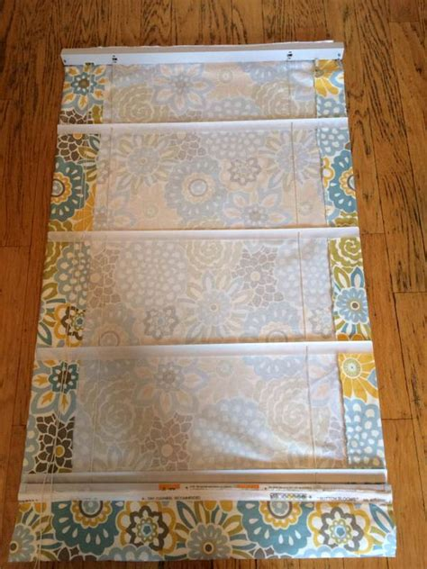 no sew shades from mini blinds curtains diy rooms