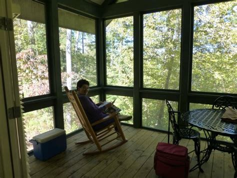 porch overlooking woods picture of bogue chitto state