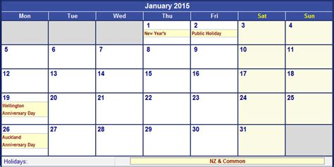 printable calendar 2014 and 2015 nz search results for 2015 calander january calendar 2015