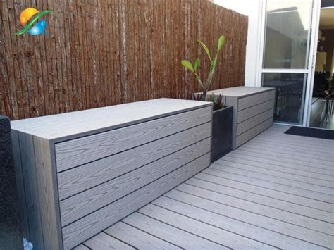 Outdoor Storage Bench Waterproof Waterproofing How To Waterproof Outdoor Storage Bench