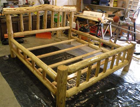 how to make a log bed free log bed plans pdf woodworking
