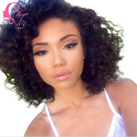 short curly bob wig glueless jet black short curly bob wig curly full lace