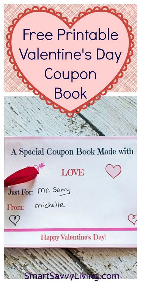 valentines coupons pin by smart savvy living on thrifty tips tricks
