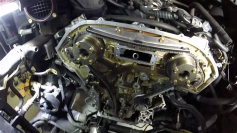 2005 nissan maxima timing chain nissan xterra vq40de engine timing chain replacement