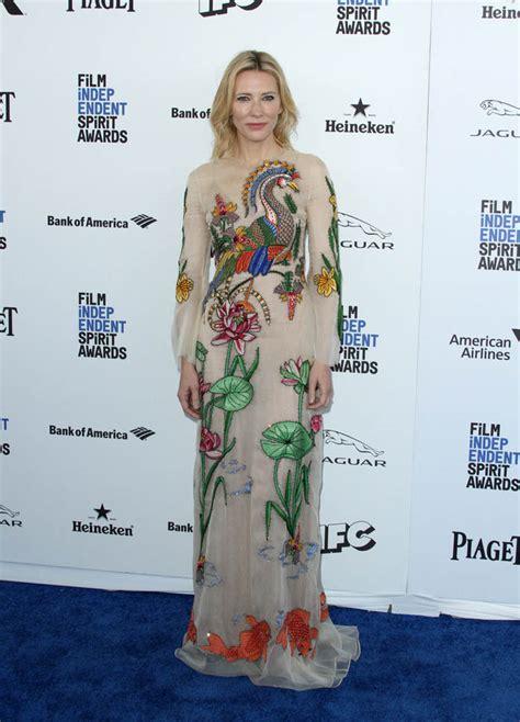 Independent Spirit Awards Cate Blanchett by Cate Blanchett In Gucci At The 2016 Independent