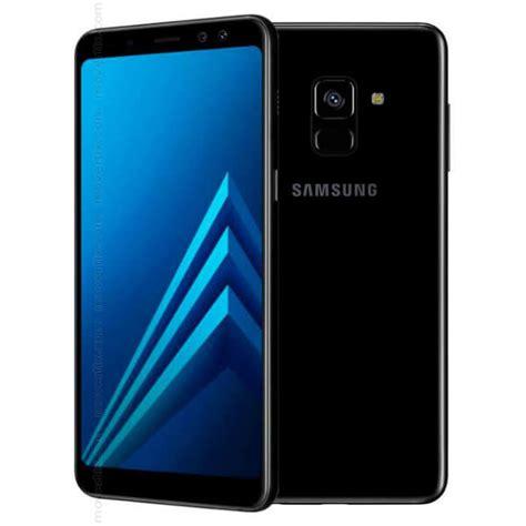 samsung galaxy a8 2018 dual sim black 32gb sm a530 8850007057376 movertix mobile phones shop