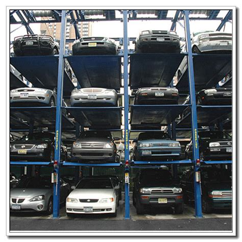 Stacking Cars In Garage by 3 Level Parking Lift Garage Car Stacking System