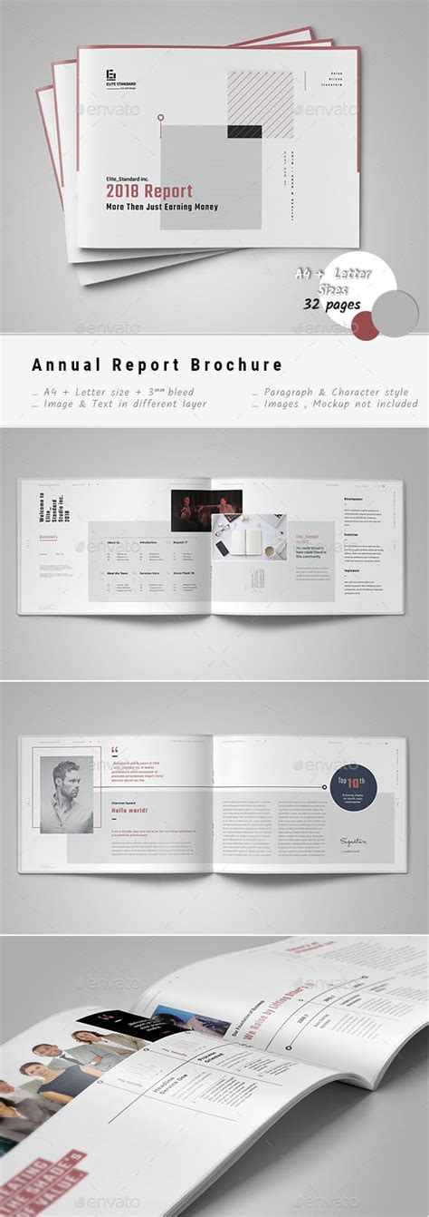 48 best annual business report templates psd word
