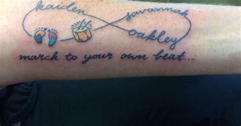 love infinity symbol autismaspergers awareness tattoos