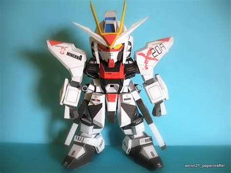 Sd Gundam Papercraft - sd strike freedom gundam papercraft by aeron21 on deviantart