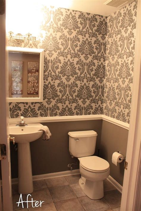 wallpaper ideas for small bathroom 78 best ideas about damask bedroom on paint