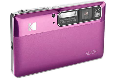 Ces 2008 Kodaks New Digital Cameras Including Touchscreen Easyshare V1273 by Kodak Slice Touchscreen Photoxels