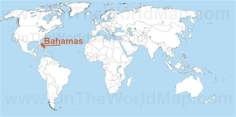 where is the bahamas on the world map bahamas on the world map bahamas on the caribbean map