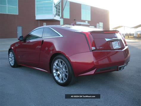 2012 cadillac cts coupe 2 door premium collection touring